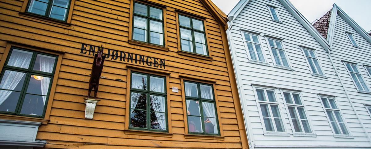 Deník – Norsko, Bergen – Sníh mezi kapkami deště (2017)